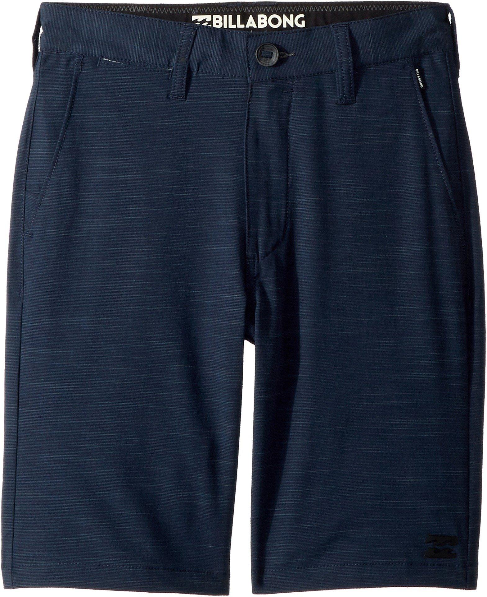 Billabong Kids Boy's Crossfire X Slub Shorts (Big Kids) Navy 26 (12 Big Kids)