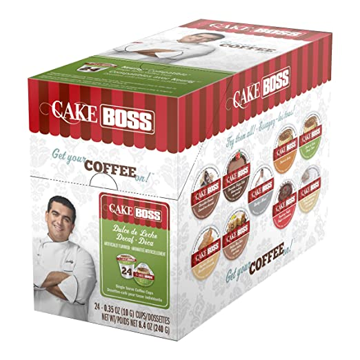 Cake Boss Dulce De Leche (Decaf) Blend 24 Count Carton Keurig 2.0 Compatible.: Amazon.com: Grocery & Gourmet Food