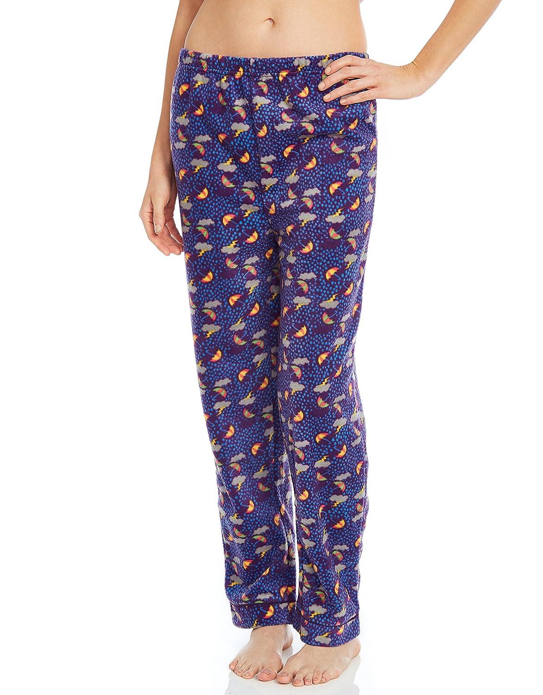 Leveret Women's Pajamas Pants Fleece Lounge Sleep Pj Bottoms (Size XSmall-XLarge)