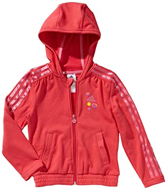 adidas - Sudadera para niña, tamaño 110 UK, color joy/blanco/ultra