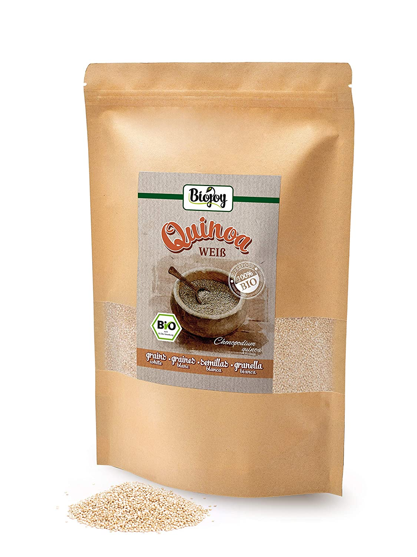 Biojoy Semillas de Quinoa Blanca BIO, Chenopodium quinoa (1 kg ...