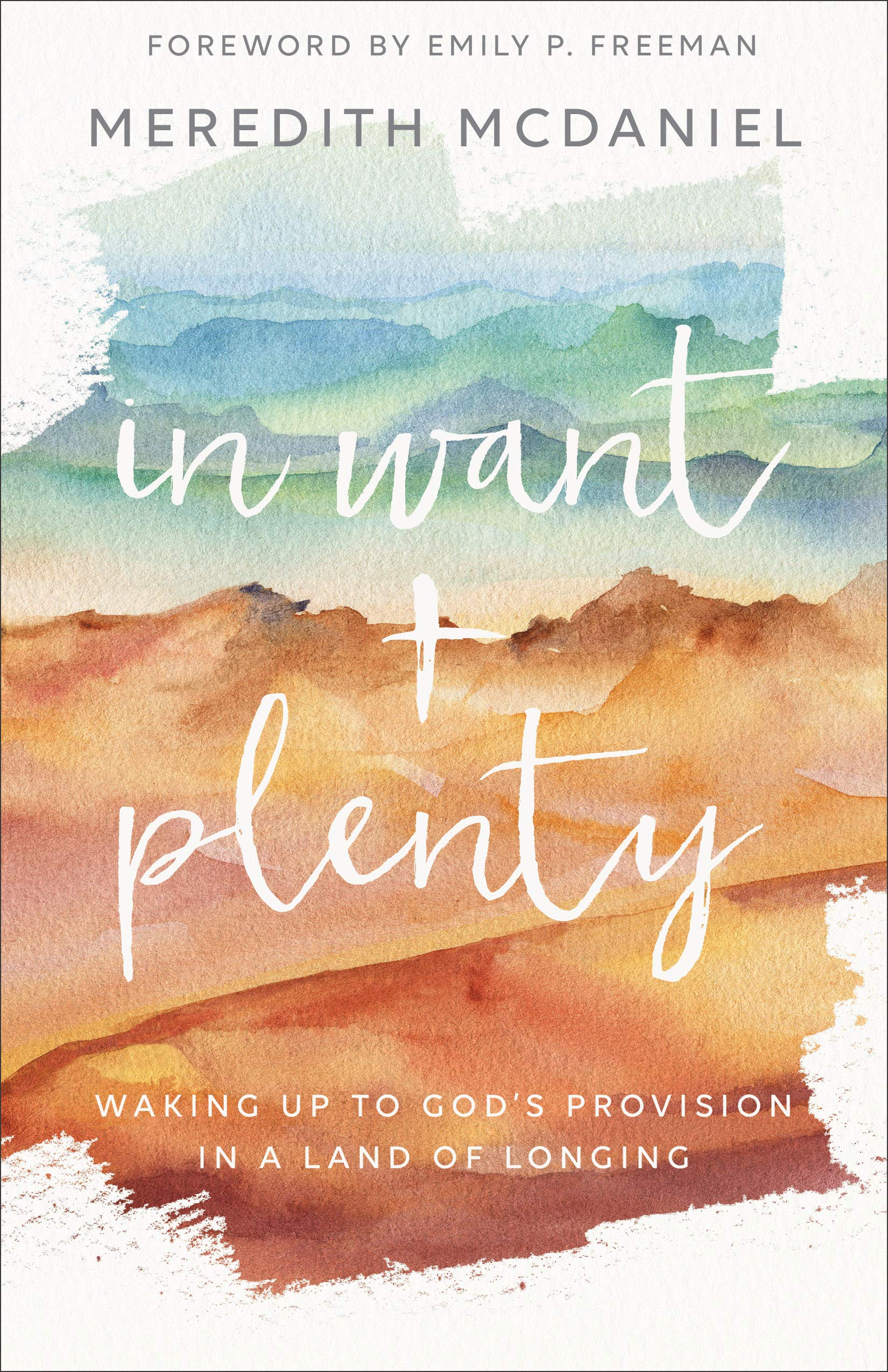 In Want + Plenty: Waking Up to God's Provision in a Land of Longing by Meredith McDaniel {A Book Review}