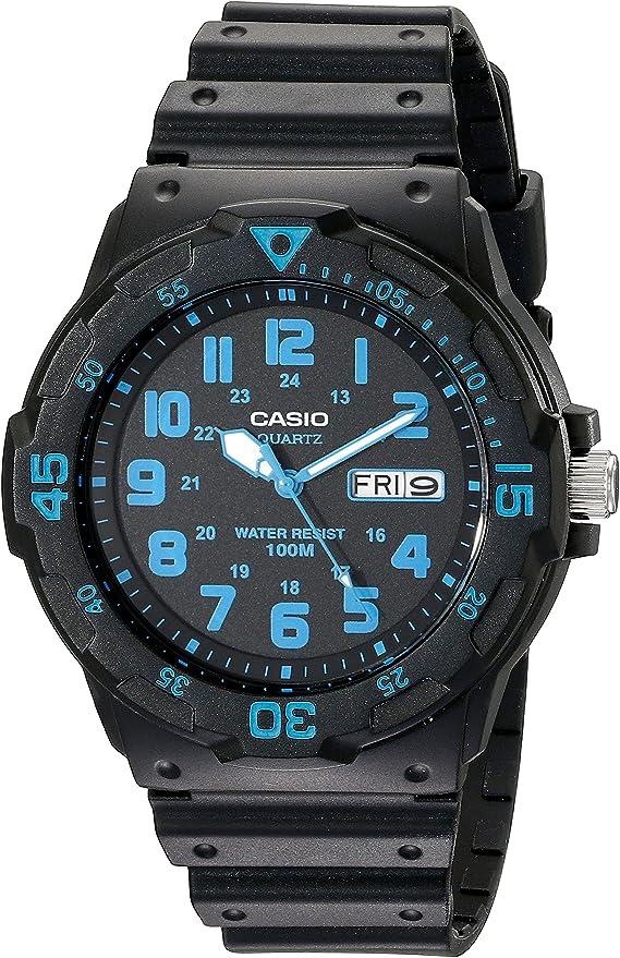 【カシオ】 Casio Unisex MRW200H-2BV Neo-Display Watch (並行輸入品)