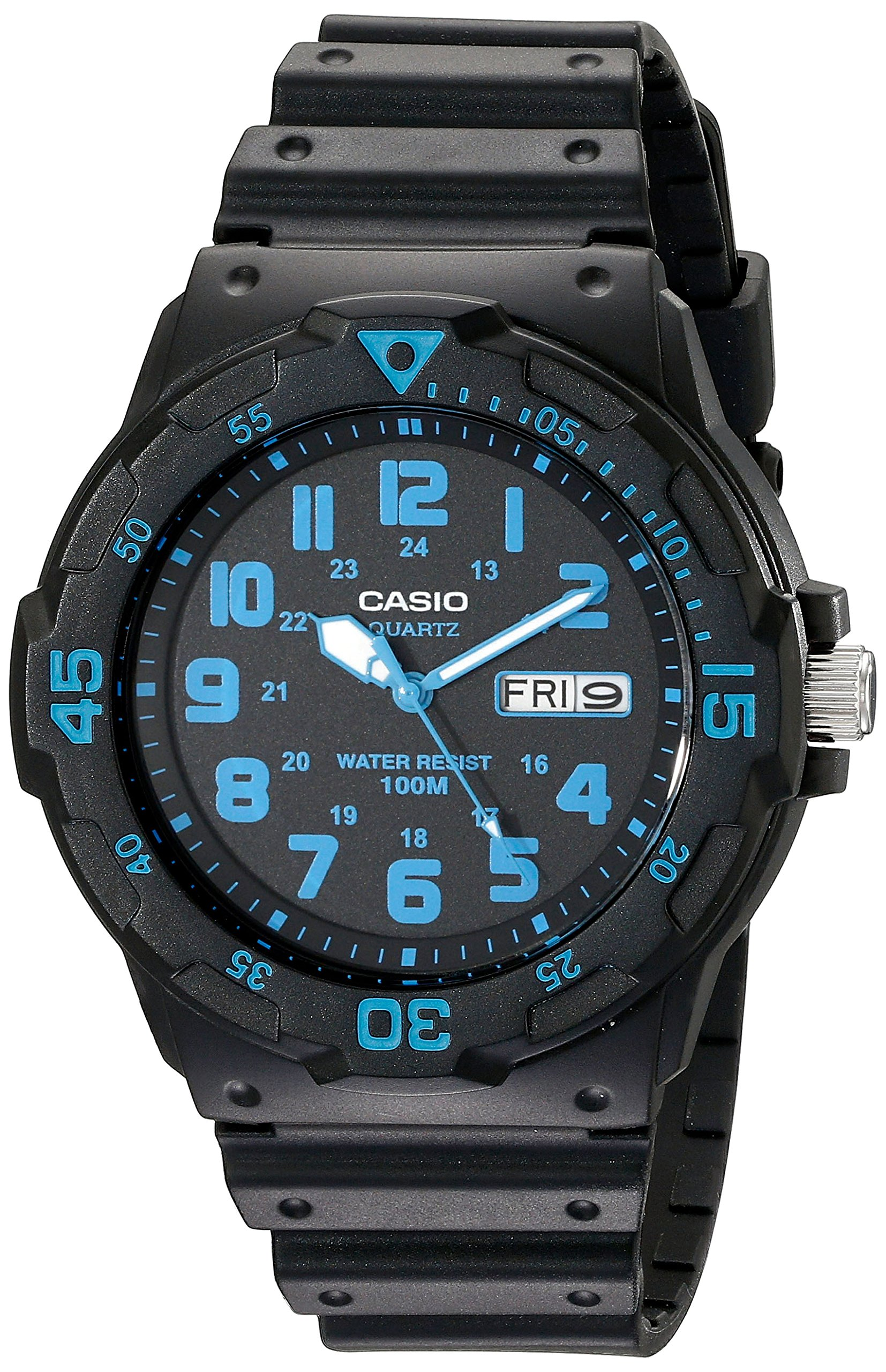 Casio Unisex MRW200H-2BV Neo-Display Black Watch with Resin Band by Casio (Image #1)