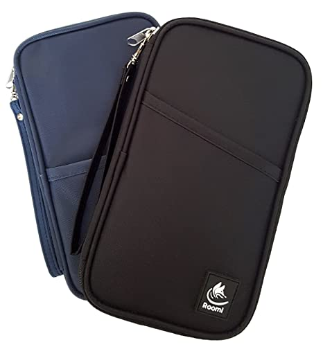 Travel Wallet & Passport Holder by Roomi, an All in One Travel Passport Wallet for safe & convenient Travelling