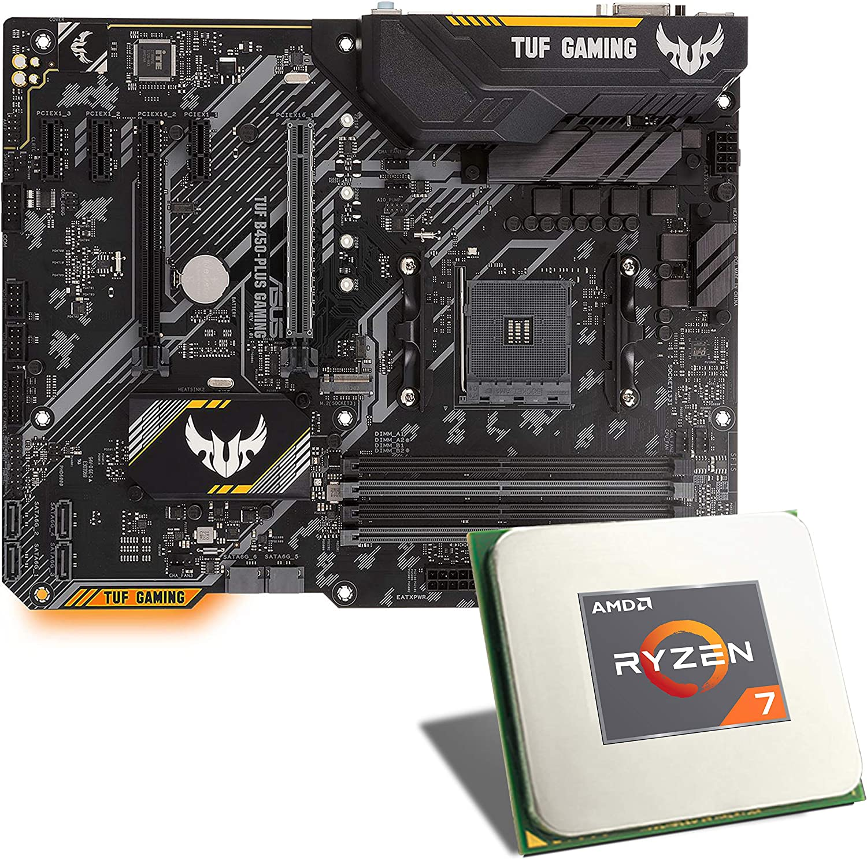 AMD Ryzen 7 3700X / Asus TUF B450-PLUS: Amazon.es: Electrónica