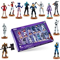 Fortnite Toys - Authentic Action Figures with Stamp, 12 Pack Deluxe Box – Elite Agent, Scratch & Other Popular Fornite…