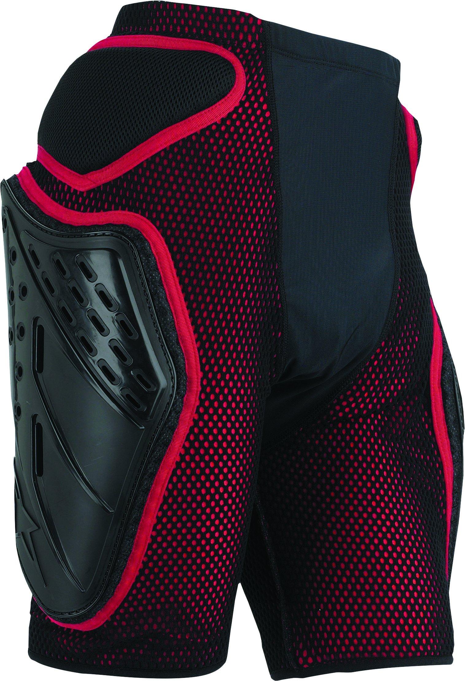 Alpinestars Bionic Freeride Shorts (Black/Red, X-Large) by Alpinestars (Image #1)