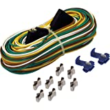 Amazon.com: Wesbar 707261 Wishbone Style Trailer Wiring Harness with on 4-way trailer connector, 7 pin trailer diagram, how electric trailer brakes work diagram, tractor-trailer diagram, 4-way trailer light diagram, 4-way round wiring-diagram, truck trailer diagram, electric trailer brake parts diagram, 5-way light switch diagram,