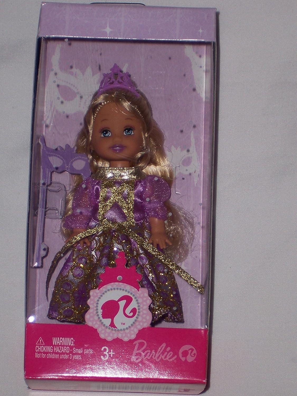 Amazon Barbie Sister Kelly Doll Purple Dress Princess Toys Games