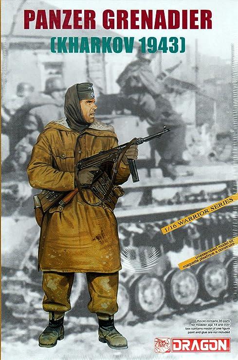 Amazon DML1613 116 Dragon Panzer Grenadier Kharkov 1943 MODEL