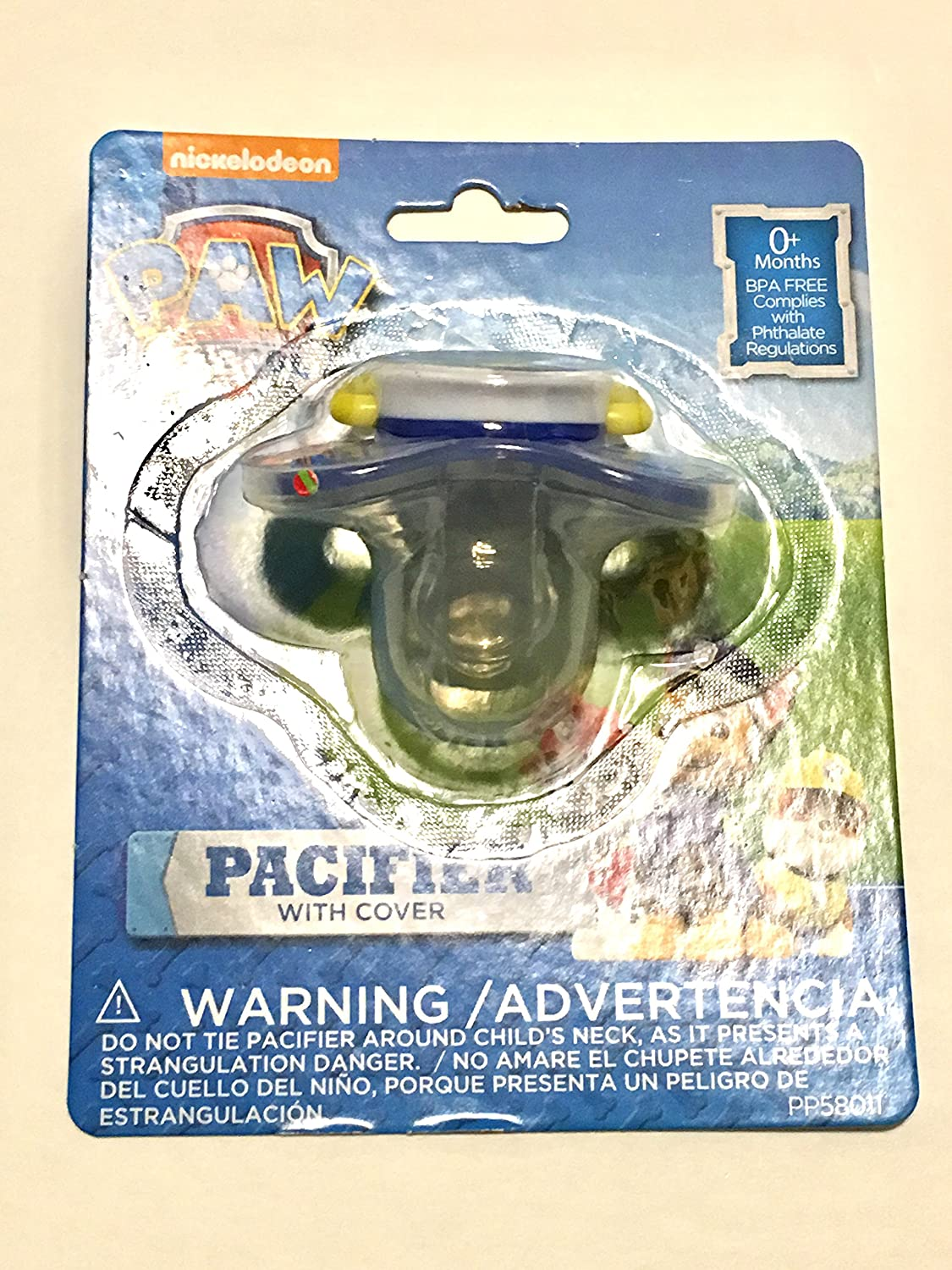 Amazon.com : Paw Patrol Chase Pacifier with Case : Baby