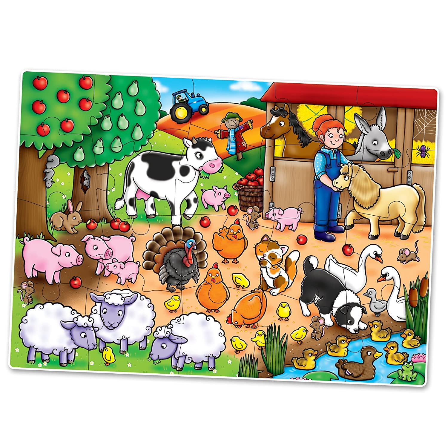 Jigsaw Puzzle Orchard Toys Whos on the Farm