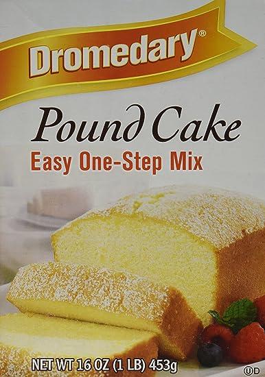 Recipes using dromedary pound cake mix
