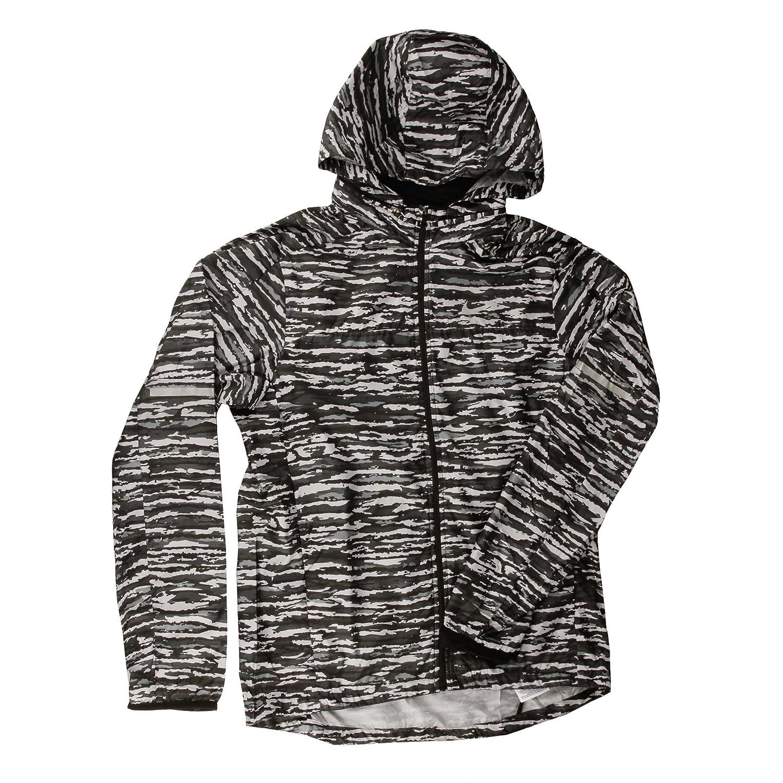 : Nike Wilder Vapor Jacket Camo, Large, Dark Gray