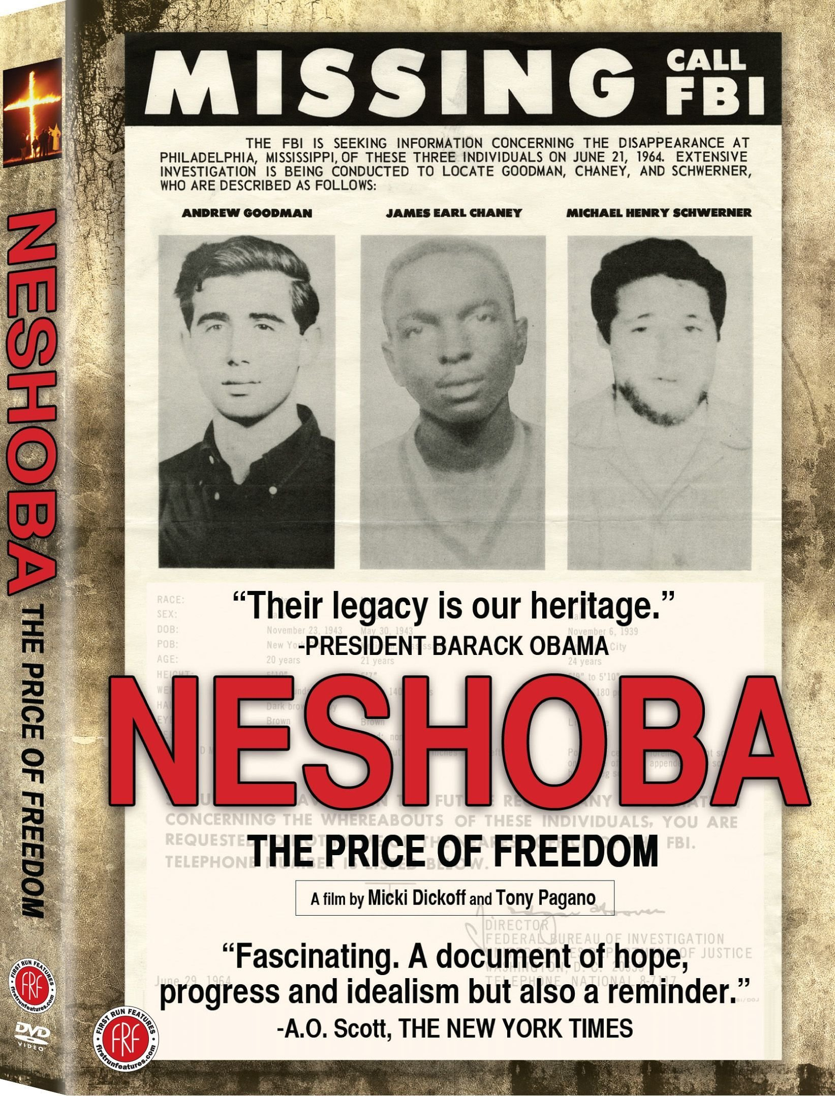 DVD : Ben Chaney - Neshoba: The Price Of Freedom (Full Frame)