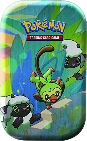 Pokémon TCG: Galar Pals Mini Lata (uno al Azar), Multicolor (820650807077)