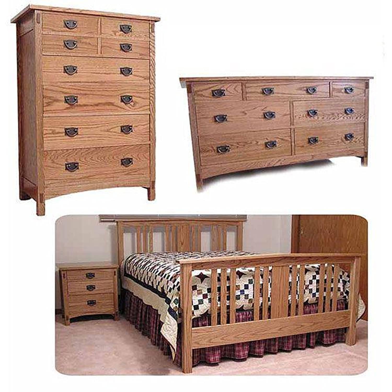 Mission Bedroom Woodworking Plan