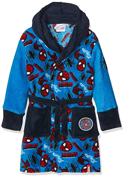 Marvel Spiderman Good Night, Bata para Niños, Blue (Navy 19-4026tc) 3 años: Amazon.es: Ropa y accesorios