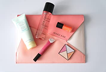 Mary Kay Mini Pocket Reinvented Ted Clutch Kit with Eyeshadow