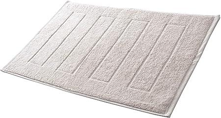 Hometex Premium Textiles Alfombrilla de baño Alfombrilla de Ducha 50 x 70 cm | 100% algodón - ÖKOTEX 100 - Natur White: Amazon.es: Hogar