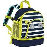 Lässig Mini Backpack Kindergartenrucksack Kindergartentasche, Little Monsters Bouncing Bob, Türkis Kinder-Rucksack, 27 cm