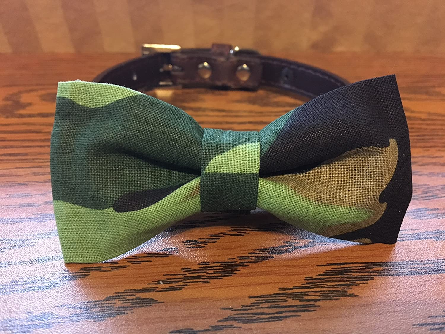 Camouflage-Dog Bow Tie
