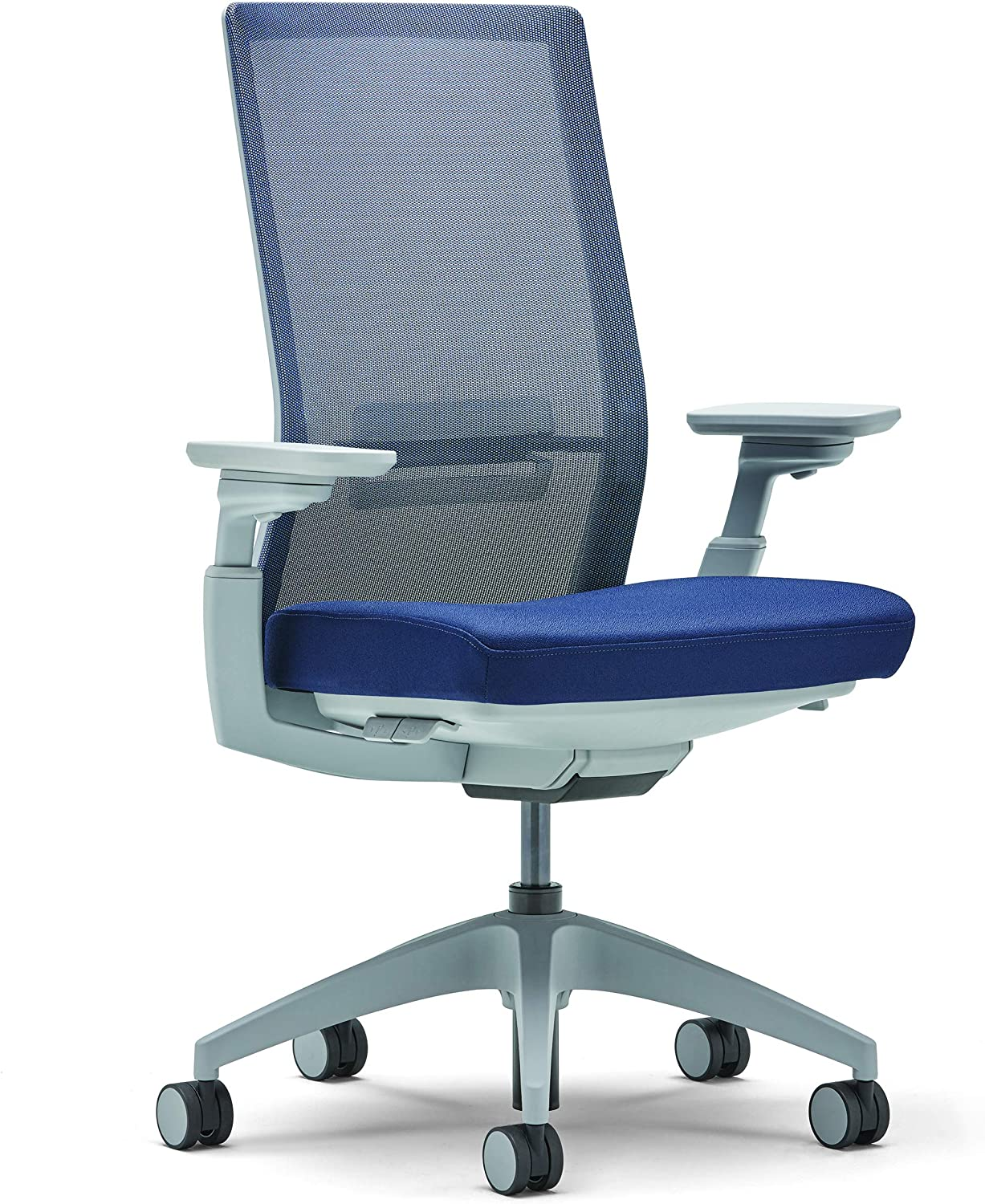Allsteel Navy Evo Task Chair with Lumbar, Weight-Activated, Mesh High-Back and 4-D Adjustable Arms