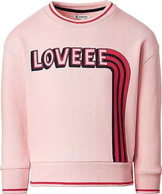 Noppies Girls G Sweater Ls Marble Sweatshirt