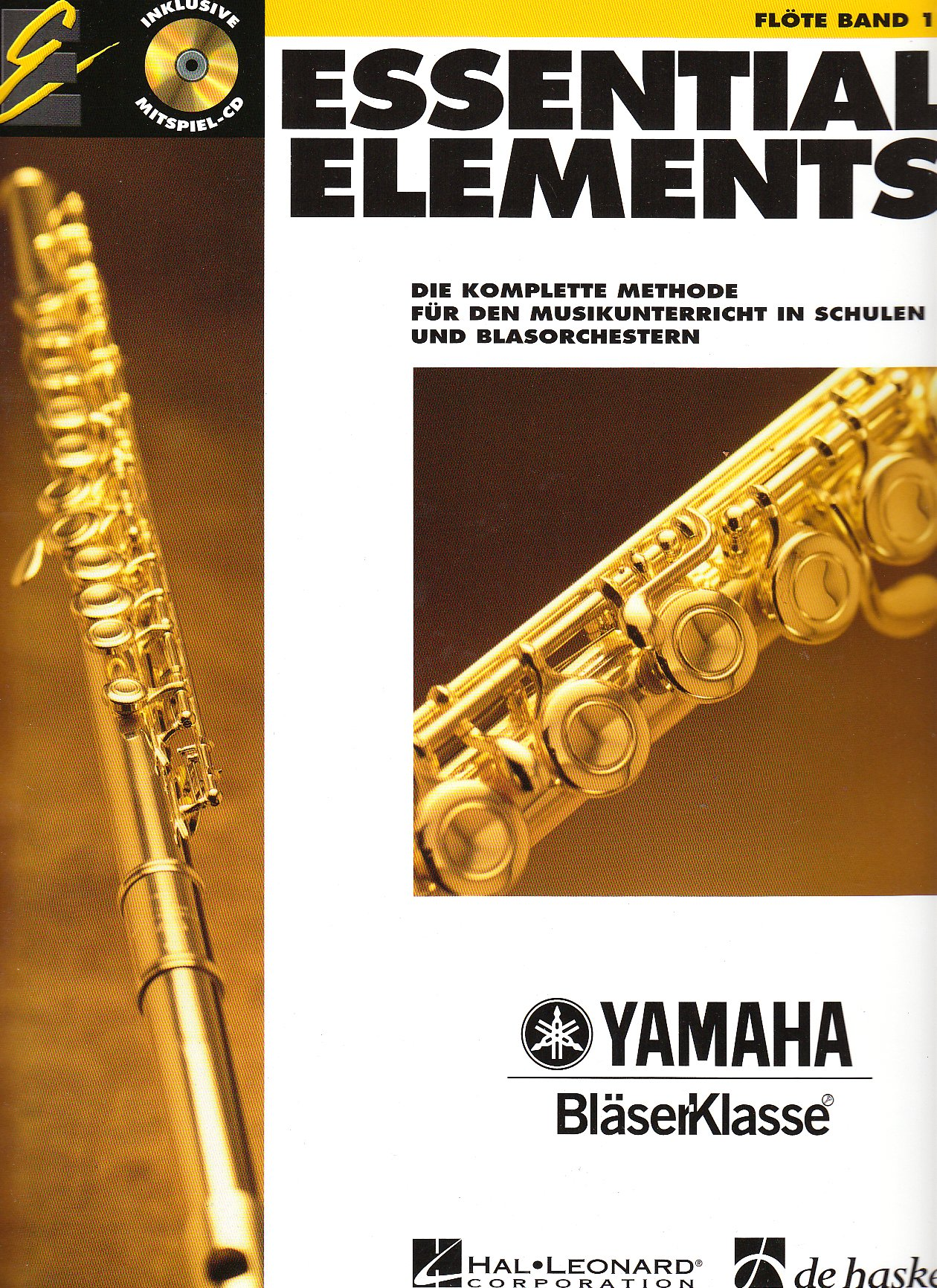 Essential Elements, für Flöte, m. Audio-CD