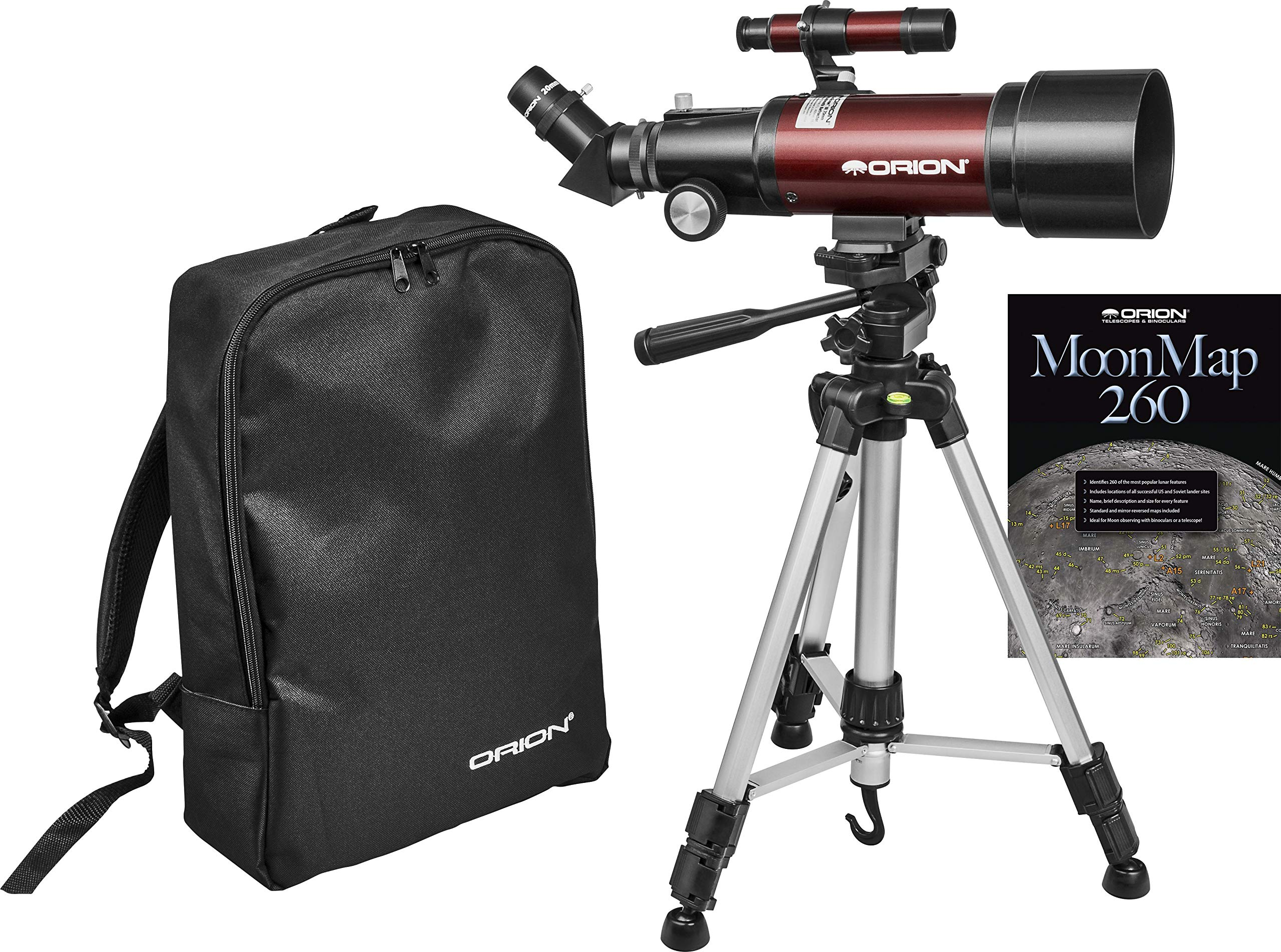 Orion GoScope III 70mm Refractor Travel Telescope by Orion