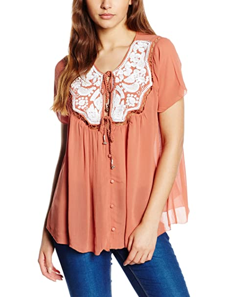 es Bittersweet Lovin Sequined Mujer Amazon Somedays Blouse Blusa qH05P