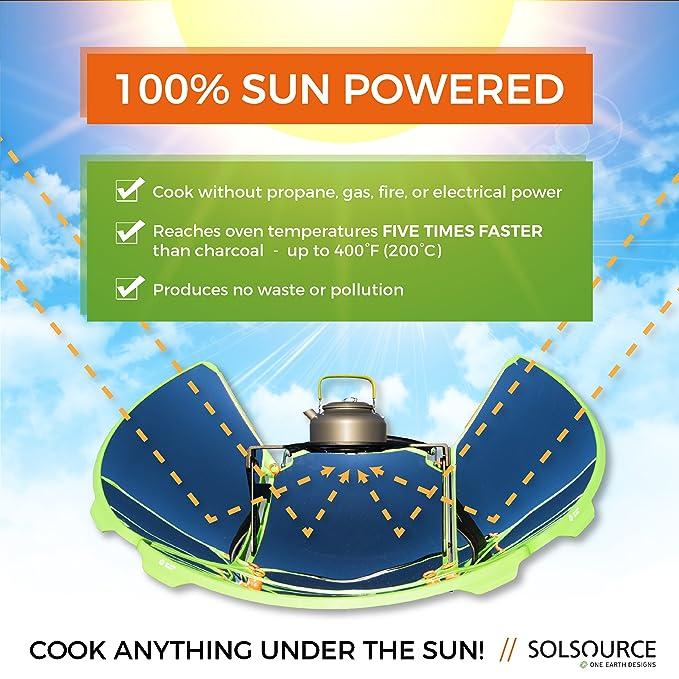 Amazon.com: solsource Sport Solar portátil estufa ...