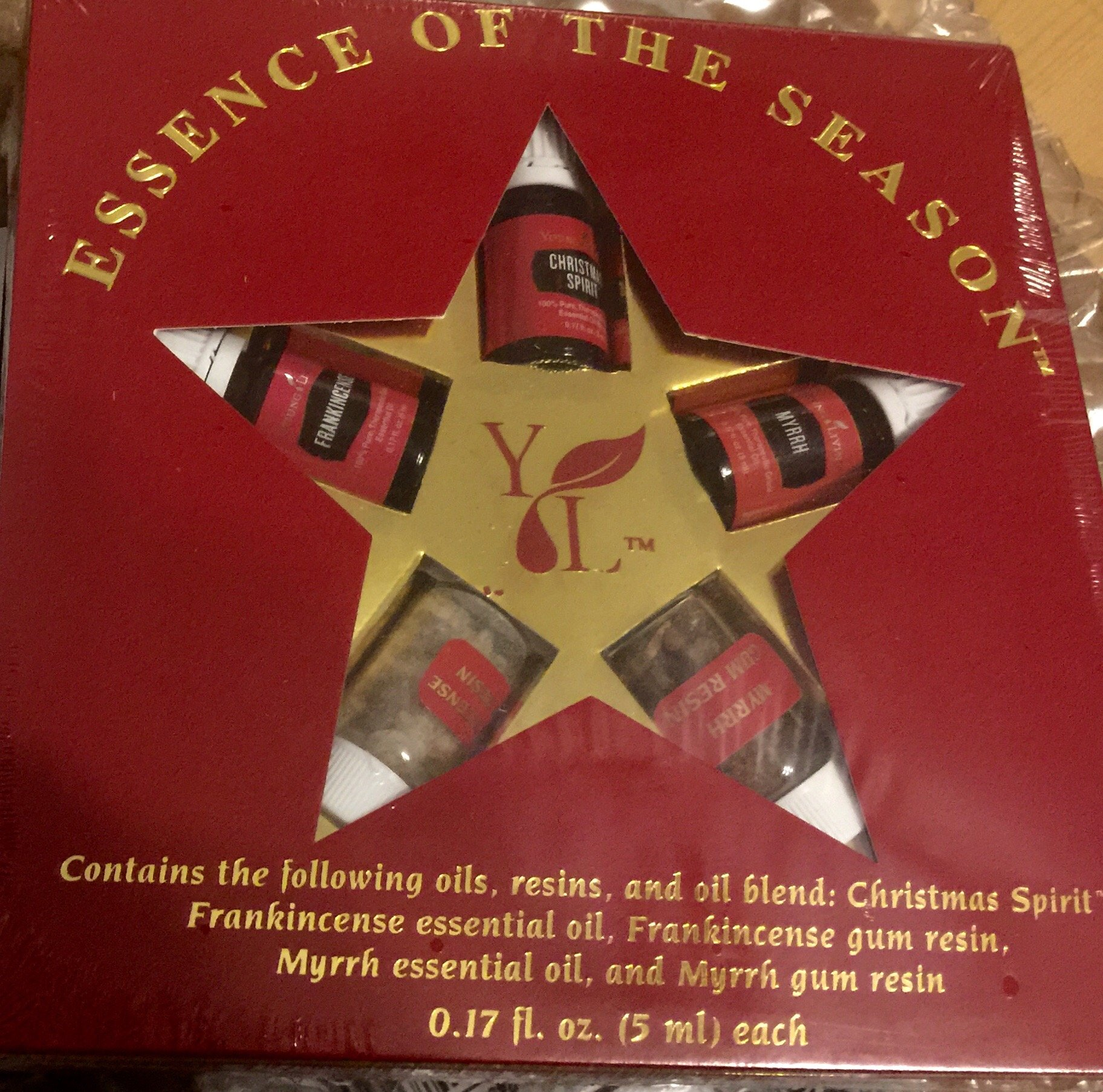 Young Living Essence of The Season Essential Oil Collection