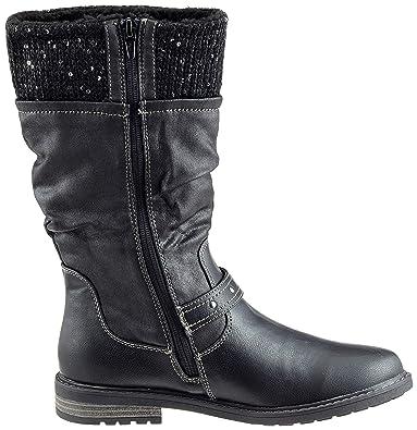 s.Oliver Mädchen 5-5-46603-21 001 Hohe Stiefel  Amazon.de  Schuhe    Handtaschen 62f59317ce
