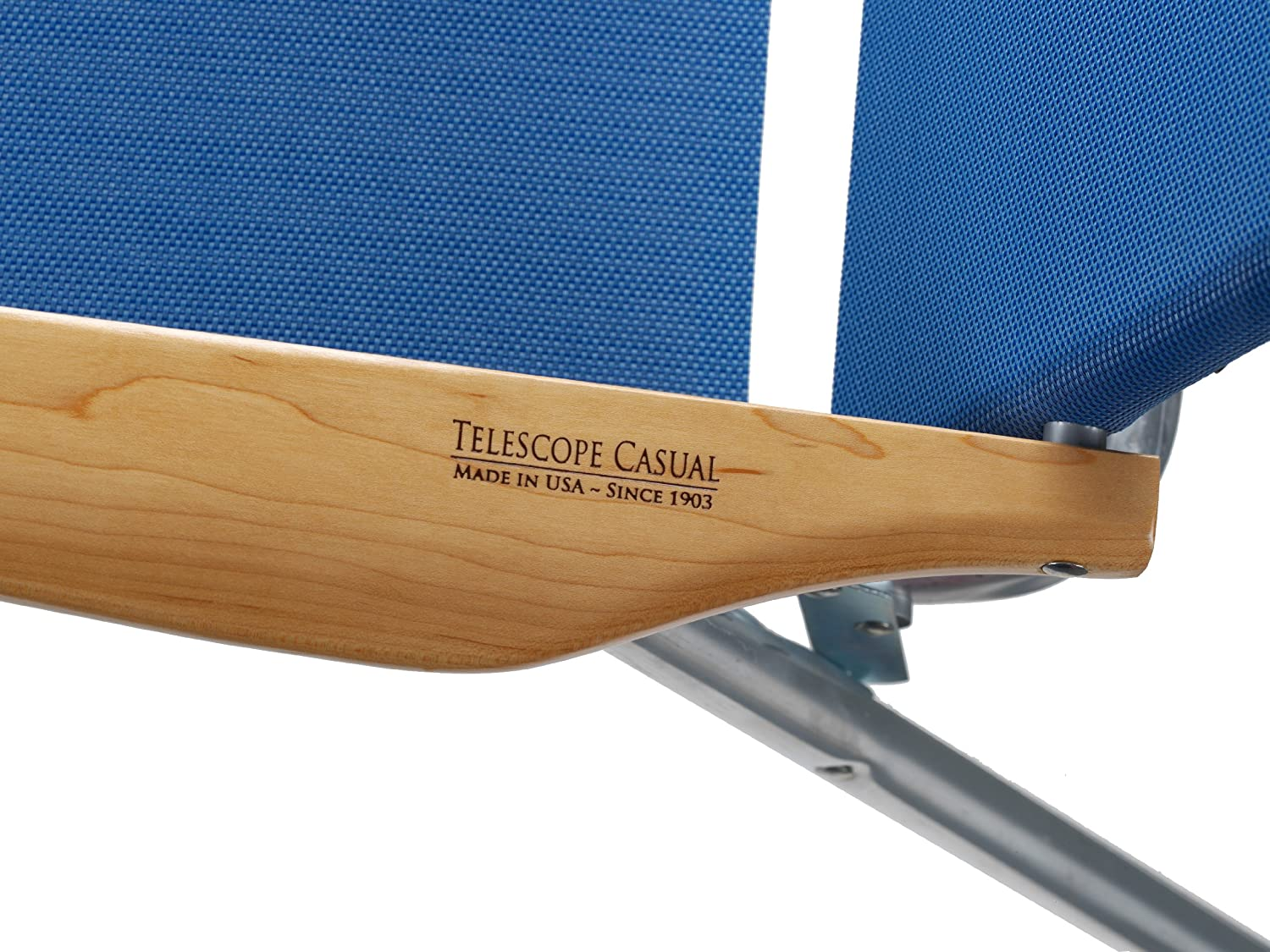 Attrayant Amazon.com : Telescope Casual Light And Easy High Boy Folding Beach Arm  Chair, Sky : Camping Chairs : Garden U0026 Outdoor