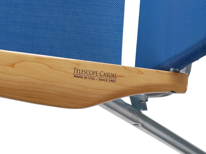Beau Amazon.com : Telescope Casual Light And Easy High Boy Folding Beach Arm  Chair, Cobalt (71135D01) : Patio Chairs : Garden U0026 Outdoor