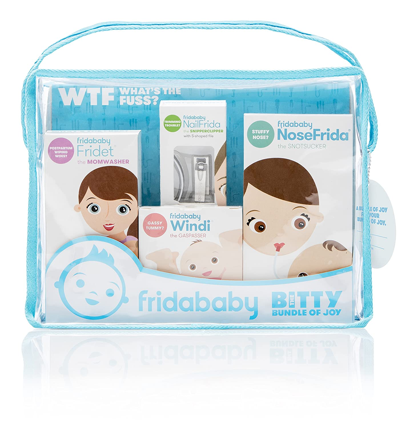 Fridababy Bitty Bundle of Joy Mom /& Baby Healthcare and Grooming Gift Kit