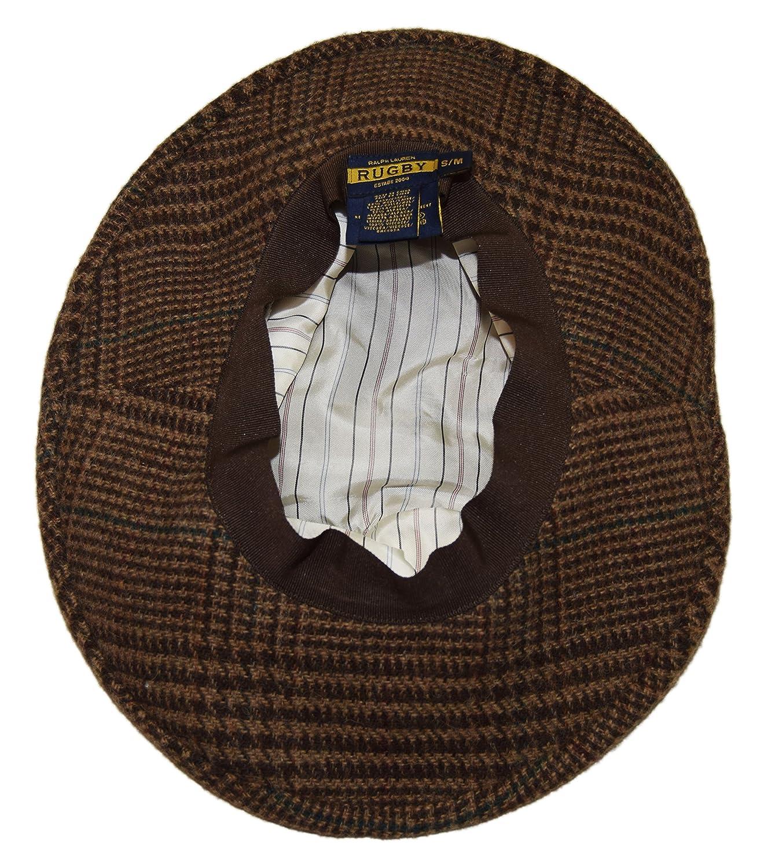 Ralph Lauren Polo Rugby Mens Wool Alpaca Wide Brim Sun Hat Plaid Brown  Beige at Amazon Men s Clothing store  093ff0be1777