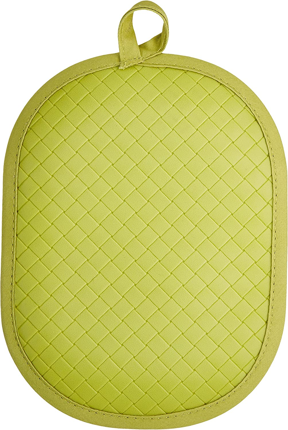 Rachael Ray Pot Holder & Trivet With Silicone Grip, Green
