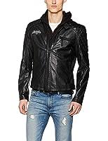 Batman v Superman Batman - Logo Leather jacket black