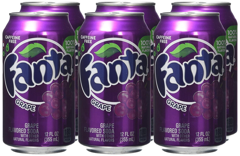 FANTA can SOUTH AFRICA 330m GRAPE FLAVOUR Coca Cola 2012 Purple