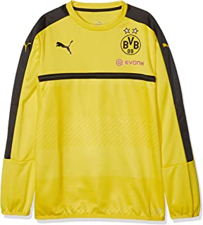 Puma Sweatshirt BVB Training Sweat with Sponsor - Chándal de fútbol para niño