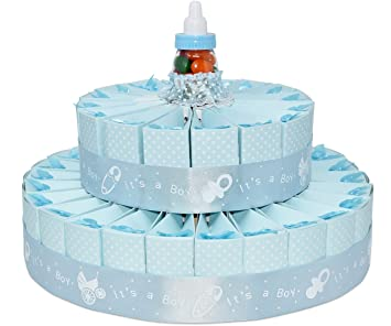 35fdc326b1c1 Amazon.com  Baby Shower Party Favors -- It s A Boy Favor Cake  Baby