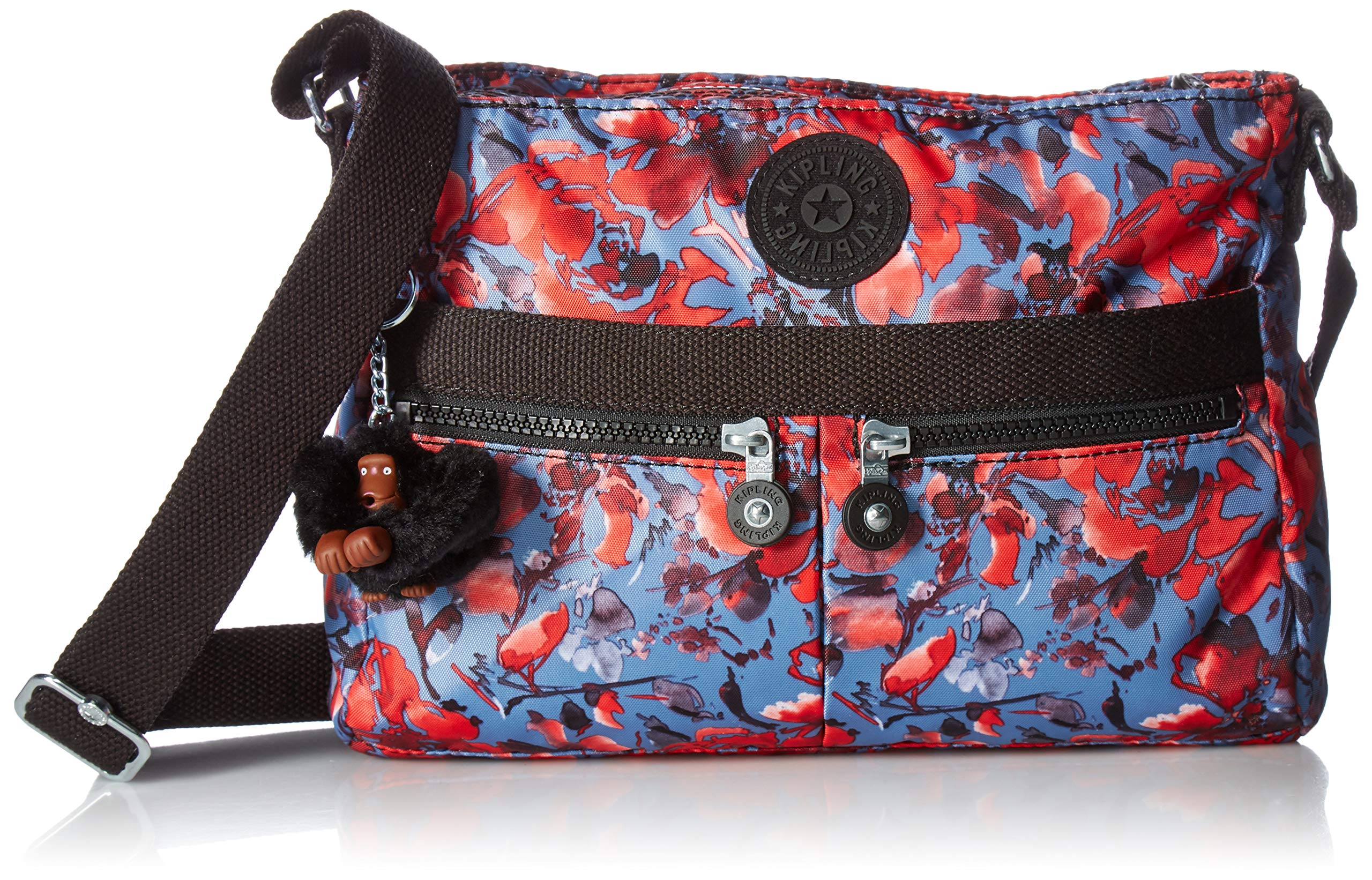 Kipling Women's womens Angie Crossbody Bag,  Festive Floral, One Size