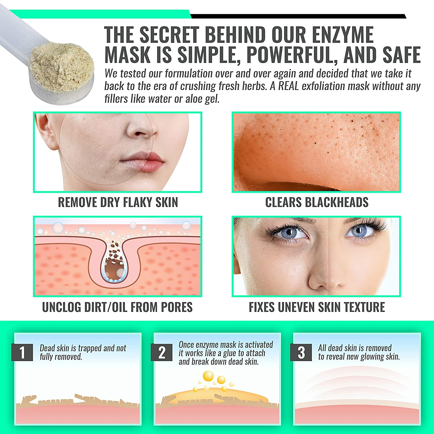remove dead skin from face