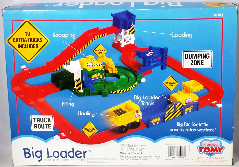 amazon com tomy big loader toys u0026 games