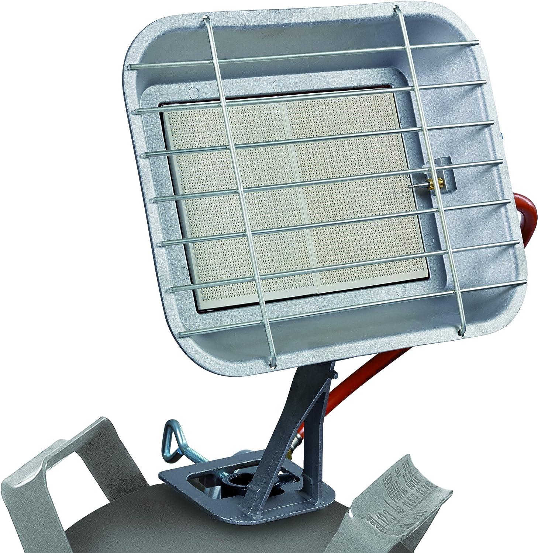 Einhell Gas estufa GS 4600 P (capacidad de calefacción de hasta 4,6 kW, con piezo-encendido, con regulador de presión, manguera, regulador, para los ...