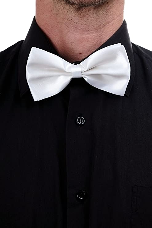dressmeup Dress ME UP - Corbata Mariposa Bowtie corbatín Blanco ...