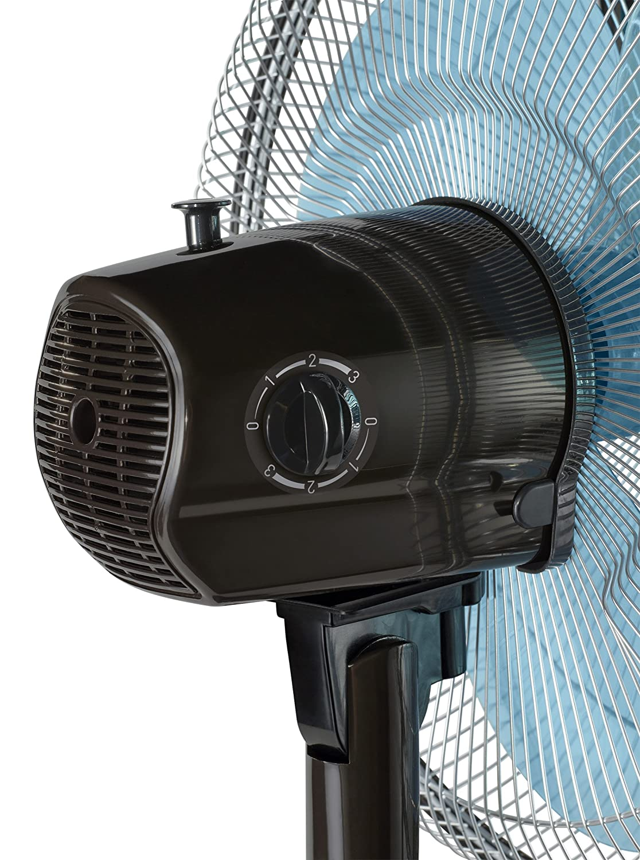 Rowenta Classic Compact VU1930F0 Ventilador 45 W sobremesa 13 cm con gran repartición del aire por su oscilación ideal y automática, repartirá el aire para ...
